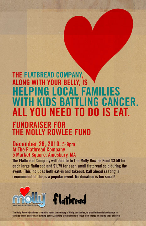 Flatbread :: Molly Rowlee Fund Fundraiser